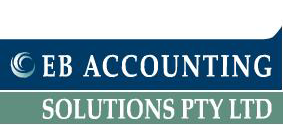 EB Accounting Solutions logo.